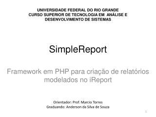 SimpleReport