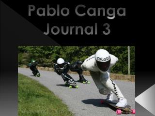 Pablo Canga  Journal  3