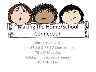 Making the Home/School Connection