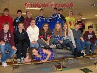 Members of student Council