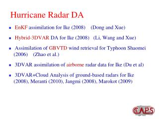 Hurricane Radar DA