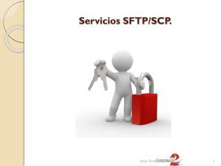 Servicios SFTP/SCP.