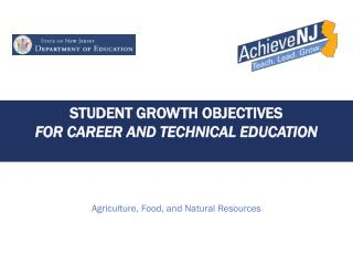 Student Growth Objectives for Career and technical education