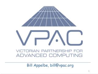 Bill Appelbe, billvpac
