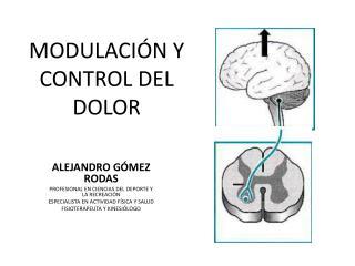 MODULACIÓN Y CONTROL DEL DOLOR