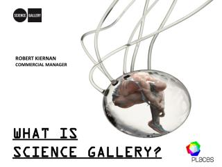 WHAT IS  SCIENCE  GALLERY ?