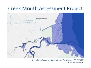 Creek Mouth Assessment Project