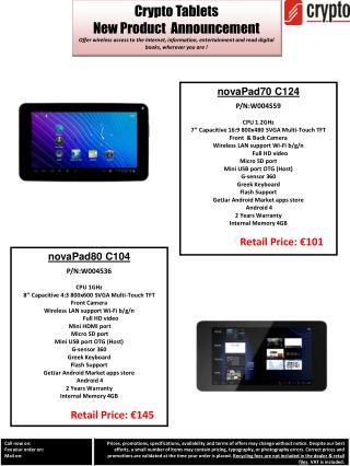 Crypto Tablets