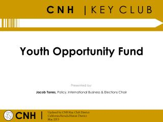 Youth Opportunity Fund