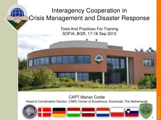 Interagency Cooperation in  Crisis Management and Disaster Response