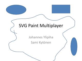 SVG Paint Multiplayer