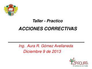 T al l er  - Practico ACCIONES CORRECTI V AS
