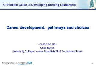 A Practical Guide to Developing Nursing Leadership