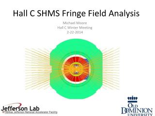 Hall C SHMS Fringe Field Analysis