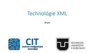 Technol�gie XML