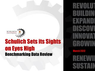 Schulich  Sets its Sights on Eyes High  Benchmarking Data Review