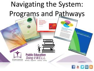 Navigating  the System: Programs and  Pathways