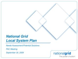 National Grid Local System Plan