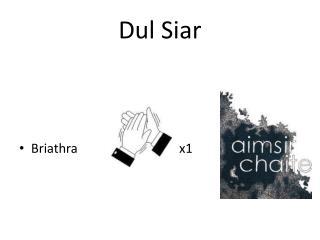 Dul Siar