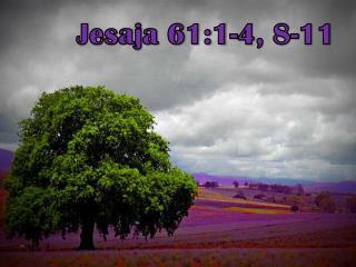 Jesaja 61:1-4, 8-11