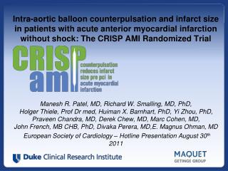 Intra-aortic balloon counterpulsation and infarct size in patients with acute anterior myocardial infarction without sho
