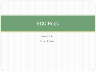 ECO Reps