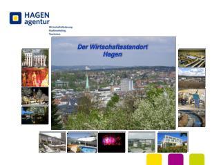 Der Wirtschaftsstandort  Hagen