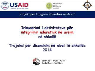 Projekt p�r Integrim Nd�retnik n� Arsim