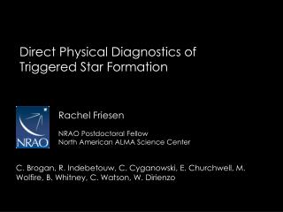 Direct Physical Diagnostics of Triggered Star Formation