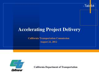 Accelerating Project Delivery