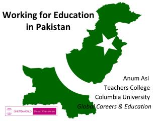 Working for Education  in Pakistan