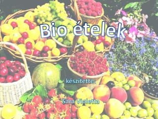 Bio  ételek