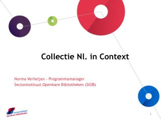 Collectie Nl. in Context