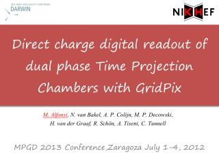 Direct charge digital readout of dual phase Time Projection Chambers with  GridPix