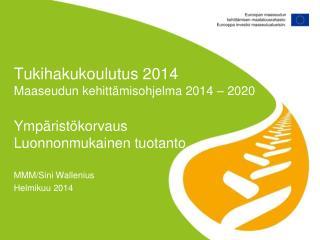 MMM/Sini Wallenius Helmikuu 2014
