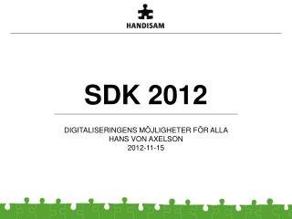 SDK 2012
