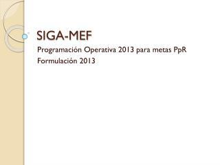 SIGA-MEF