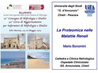 La Proteomica nelle Malattie Renali