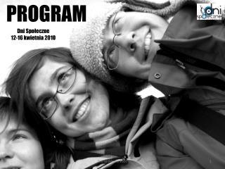 Dni Społeczne 12-16 kwietnia 2010