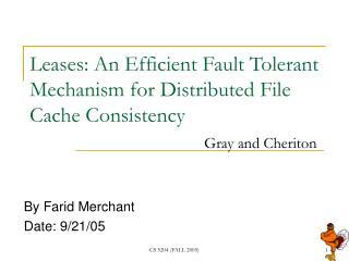 By Farid Merchant  Date: 9/21/05