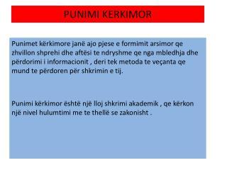 PUNIMI KERKIMOR