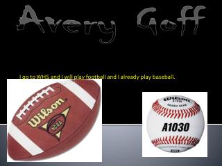 Avery Goff