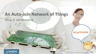 An Auto-Join  Network of  Things