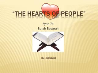 """""""The Hearts of People"""""""