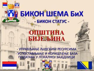 БИКОН ШЕМА БиХ -  БИКОН СТАТУС -