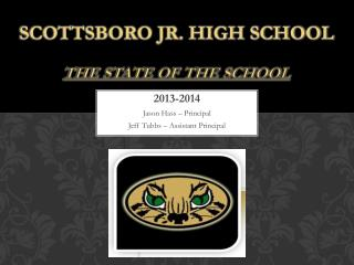 Scottsboro Jr. High School the state of the school