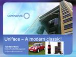 Uniface   A modern classic