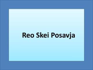 Reo Skei  Posavja