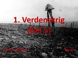1. Verdenskrig (Del 1)