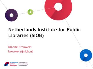 Netherlands Institute for Public Libraries (SIOB)